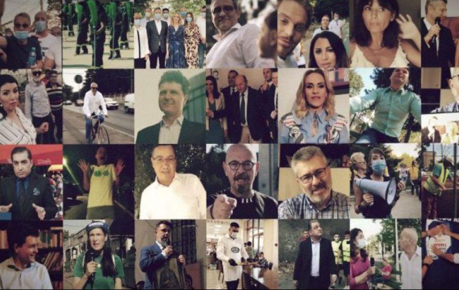 Final de campanie electorală! Cele mai bune MOMENTE video ale candidaților