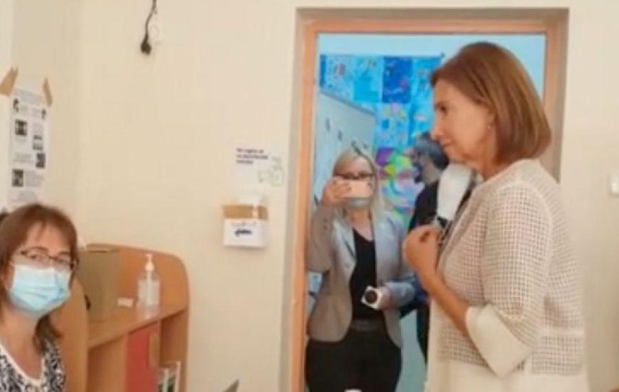 Carmen Iohannis a mers SINGURĂ la vot, în Sibiu