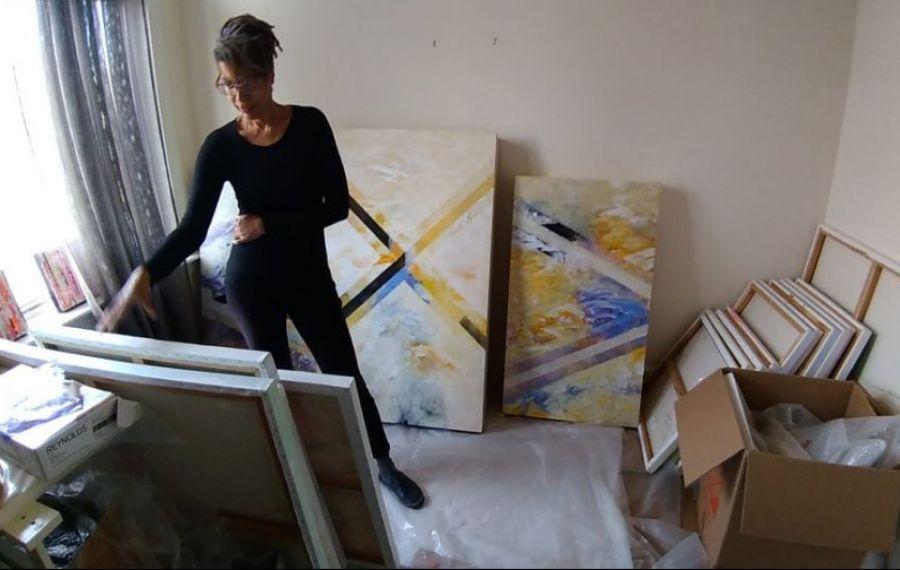 Trafic de picturi într-un târg din Capitală