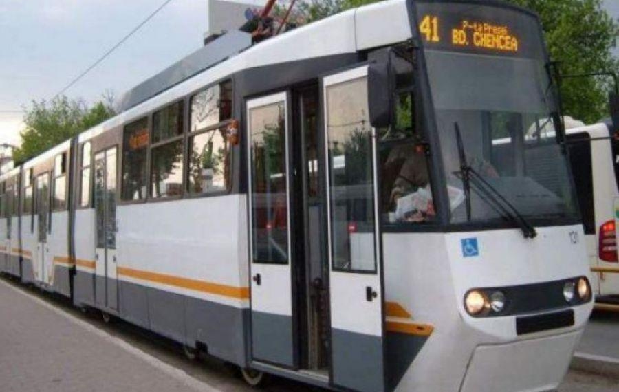 Traseul tramvaiului 41 va fi deviat în perioada 21-25 octombrie