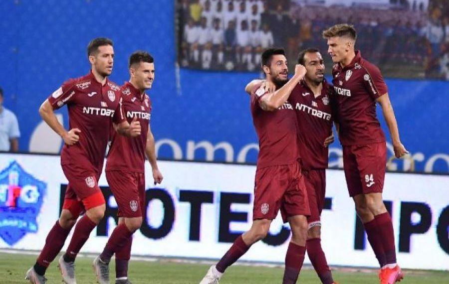 CFR Cluj s-a impus detașat în fața ȚSKA Sofia. Momentele meciului