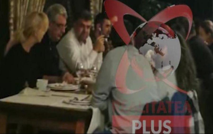 UPDATE. Imagini revoltătoare cu Ciolacu, Tudose și alte nouă persoane în restaurantul unei pensiuni fară respectarea măsurilor de distanțare
