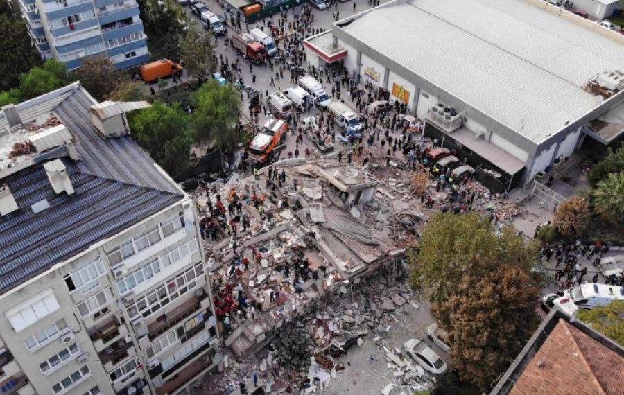 Bilanțul CUTREMURULUI din Turcia – 25 de morți și 804 răniți