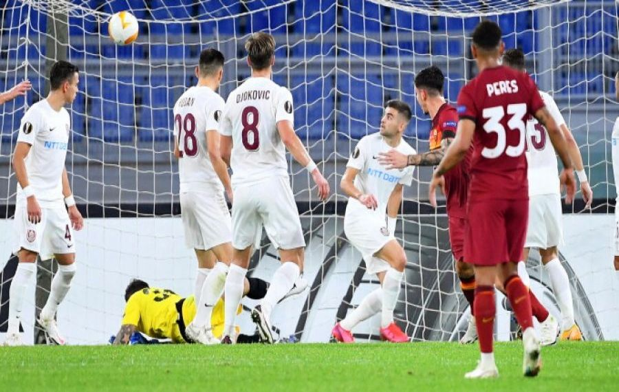 AS Roma a UMILIT CFR Cluj în Europa League