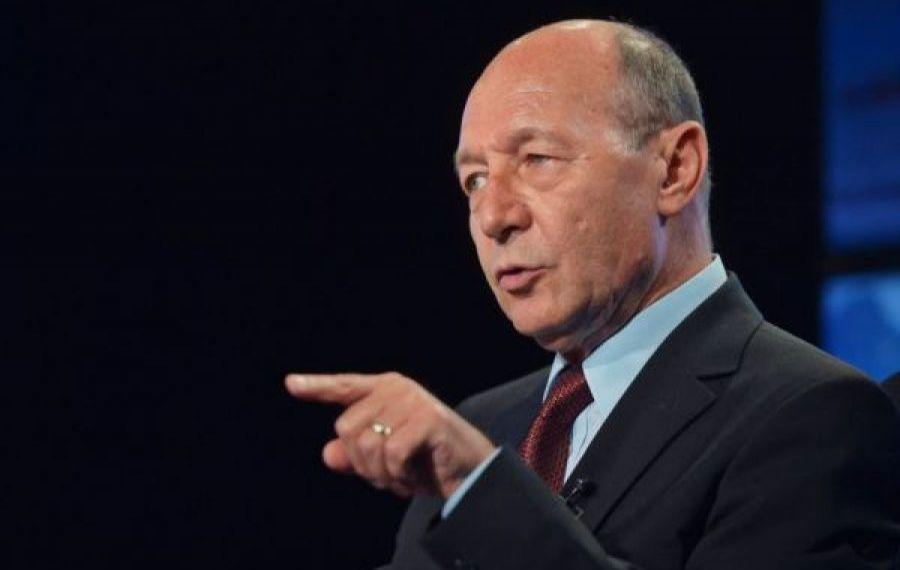 Traian Băsescu atacă USR: Un partid neomarxist, care a avut obrăznicia să ne spună să trăim la comun