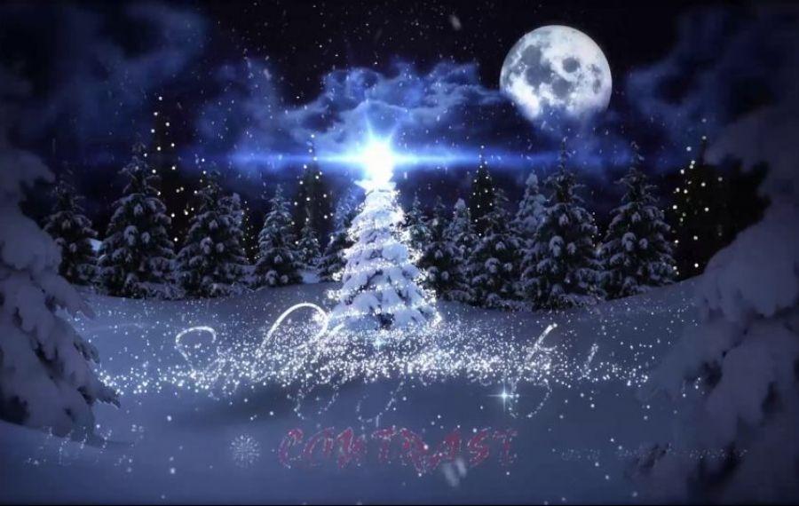 Cum arată PRIMA felicitare de Crăciun din lume. Va fi scoasă la LICITAȚIE