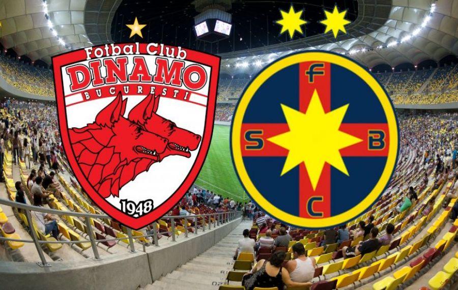 Dinamo - FCSB, finala din optimile Cupei României