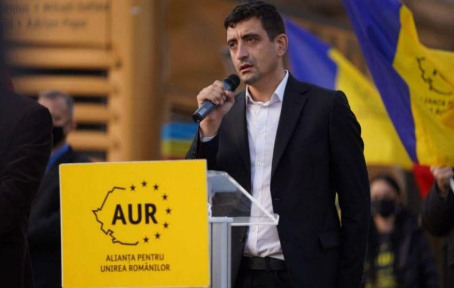 George Simion, co-președintele AUR, anunță cine ar putea fi viitorul președinte al PNL