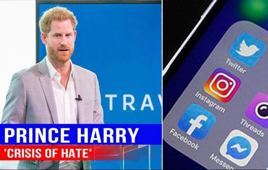 """Prințul Harry declară război titanilor din spatele rețelelor de socializare: """"Un ATAC asupra DEMOCRAȚIEI SUA"""""""
