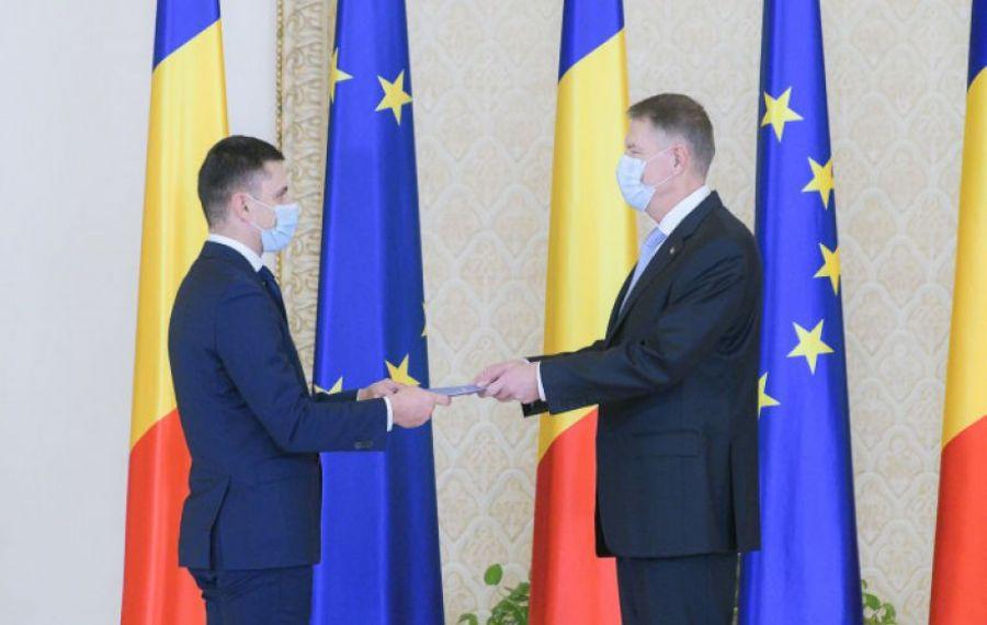 Șeful MTS, Eduard Novak, discuție cu președintele la Cotroceni despre strategia naţională pentru sport