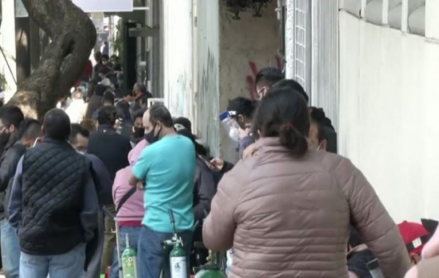 Anchetă a poliției din Mexic: se FURĂ tuburile de oxigen ale bolnavilor