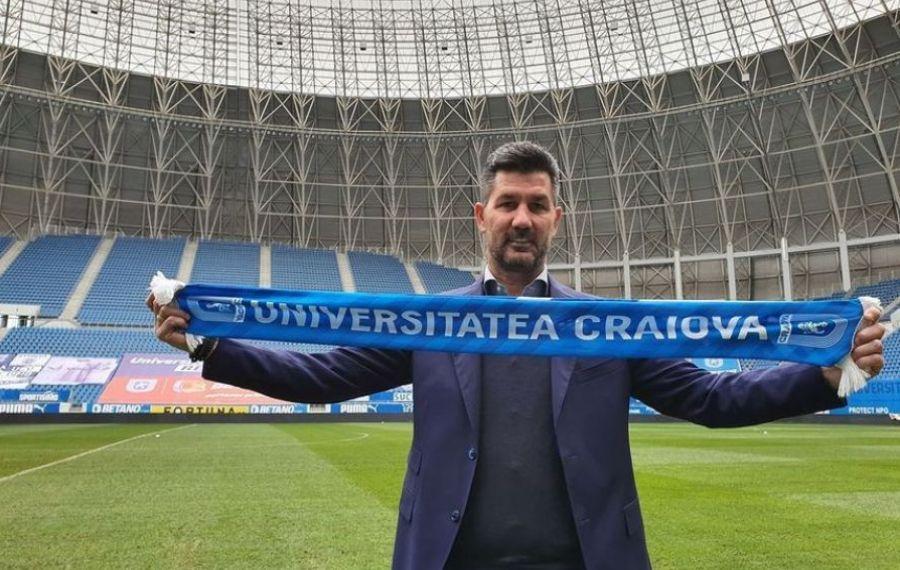 "Marinos Ouzounidis, prezentat oficial la Craiova: ""Trebuie să fim campioni"""