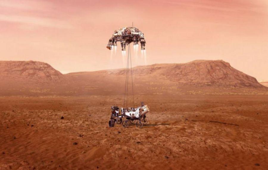 Primele IMAGINI filmate de NASA pe suprafața lui Marte