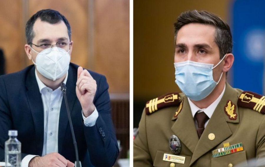 Valeriu Gheorghiță recunoaște divergențele cu ministrul Sănătății. Când vine al patrulea vaccin anti-Covid