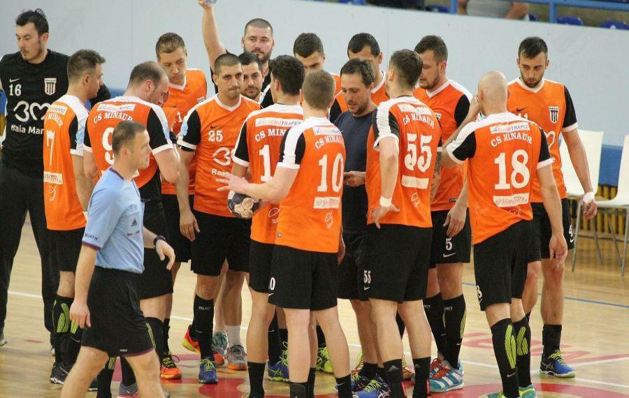 Cine este adversara lui Minaur Baia Mare în sferturile EHF European Cup