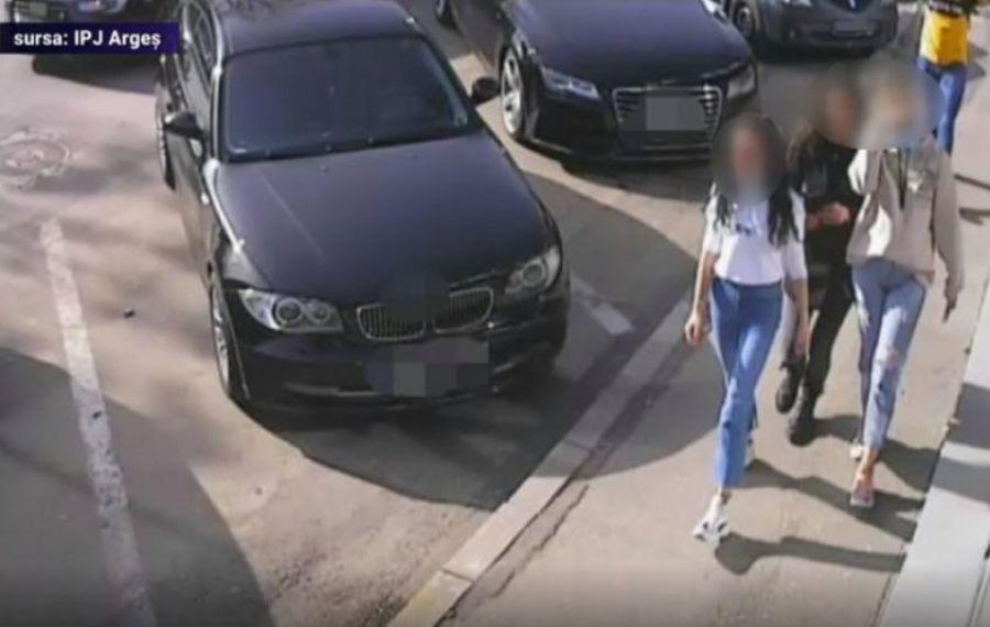 Pitești: a fost RESTITUITĂ borseta cu 13.000 de euro, găsită pe stradă de cele trei tinere