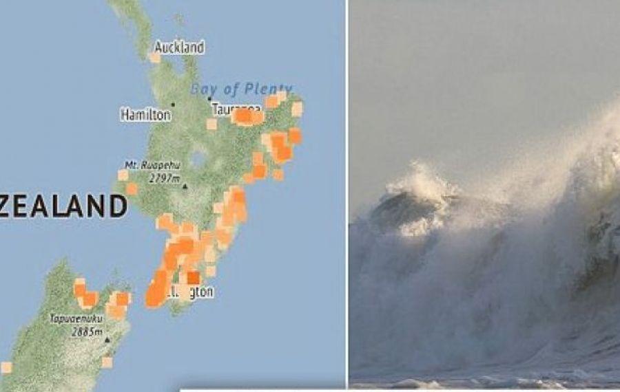 Cutremur cu magnitudinea 6,9 în Noua Zeelandă. A fost emisă ALERTĂ de tsunami