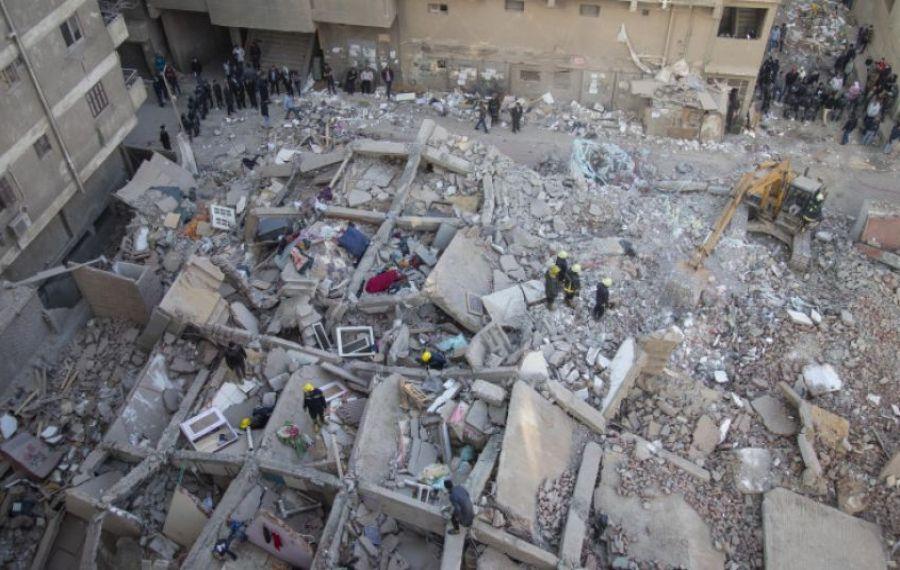 TRAGEDIE în Cairo. Opt oameni au murit după prăbușirea unei clădiri