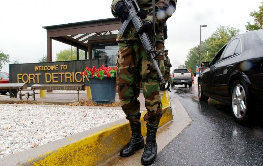 Incident ARMAT lângă o bază militară a armatei SUA