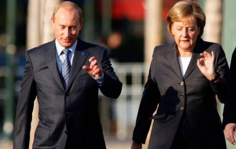 TENSIUNI între Germania și Rusia. Angela Merkel îi cere lui Putin să retragă trupele din Ucraina