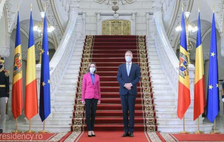 Klaus Iohannis, întâlnire cu Maia Sandu. Ce au discutat cei doi șefi de stat