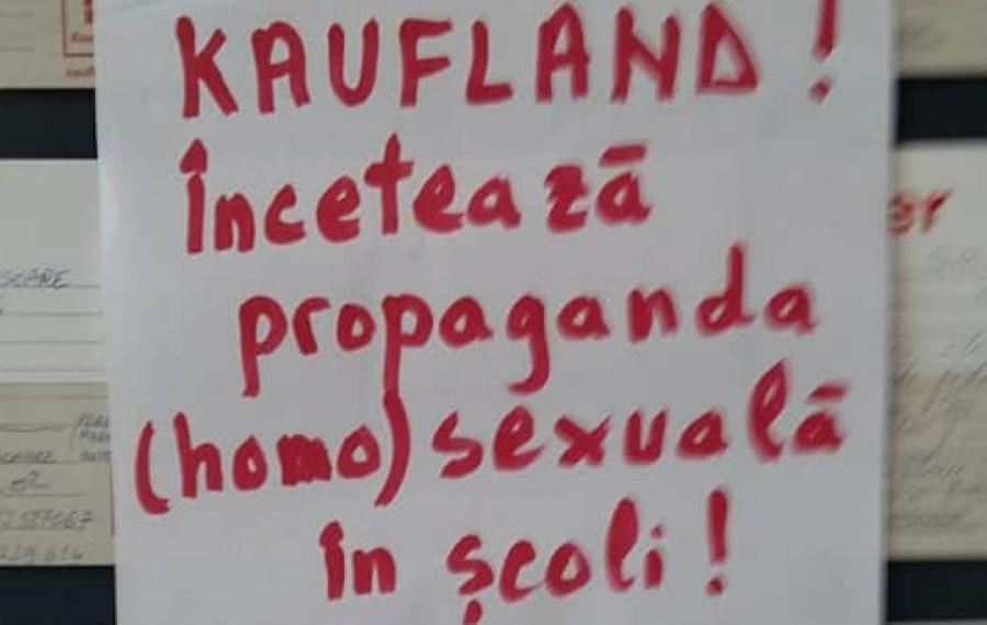Kaufland face propagandă (homo)sexuală și porno agresivă, în rândul adolescenților!