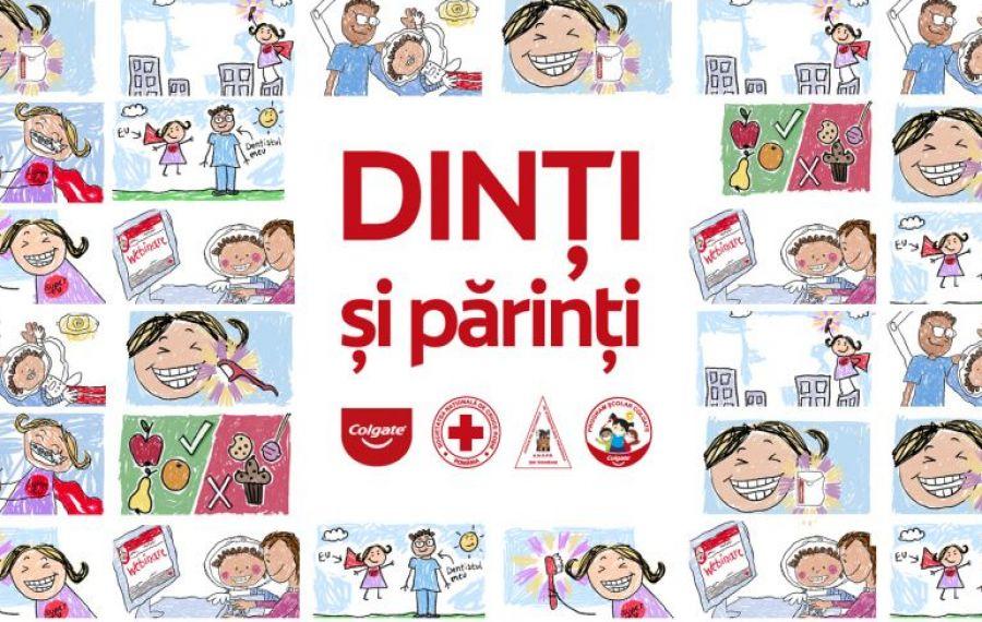 """Crucea Roșie Română lansează """"DINȚI și părinți"""", grup online de educație stomatologică"""