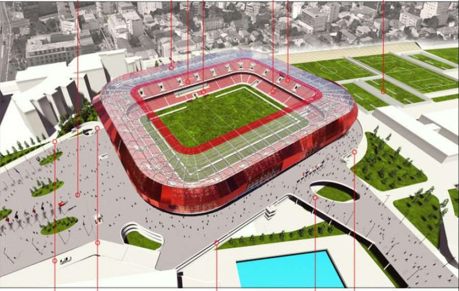 CS Dinamo a câștigat procesul cu Nicolae Badea. Noul stadion se va construi pe actualul amplasament al arenei din Ștefan cel Mare