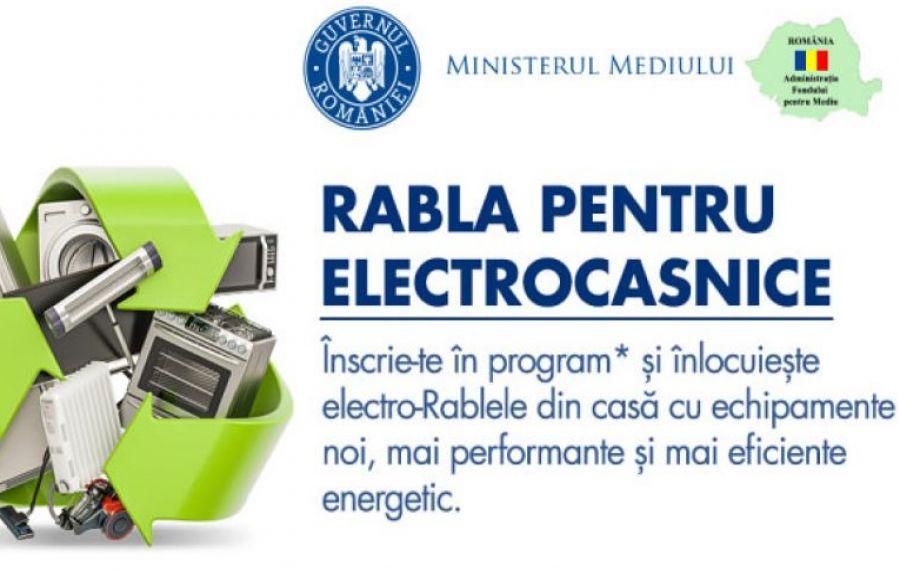 """Astăzi, etapa a doua a programului """"RABLA pentru electrocasnice"""". Vor fi generate voucherele pentru televizoare, laptopuri şi tablete"""