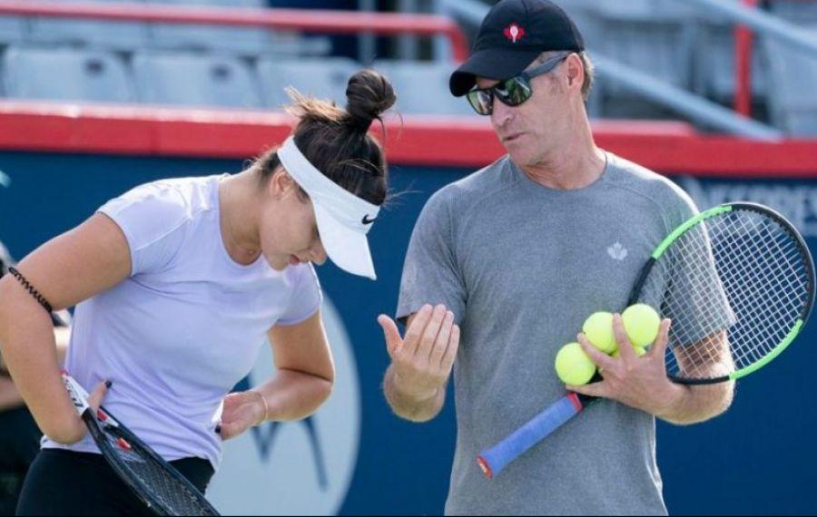 Bianca Andreescu și-a dat afară antrenorul care a dus-o în ELITA tenisului
