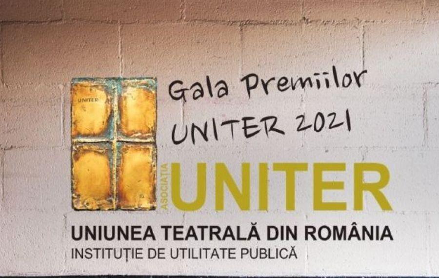 Când are loc Gala Premiilor UNITER 2021 și care sunt nominalizările