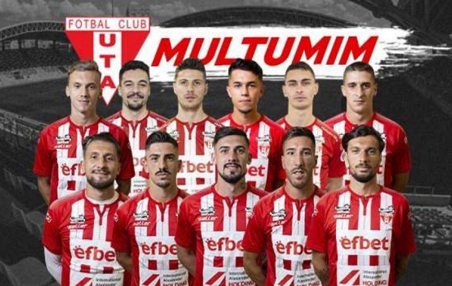 UTA a dat afară 11 jucători, printre care se numără și internaționalul Alexandru Albu