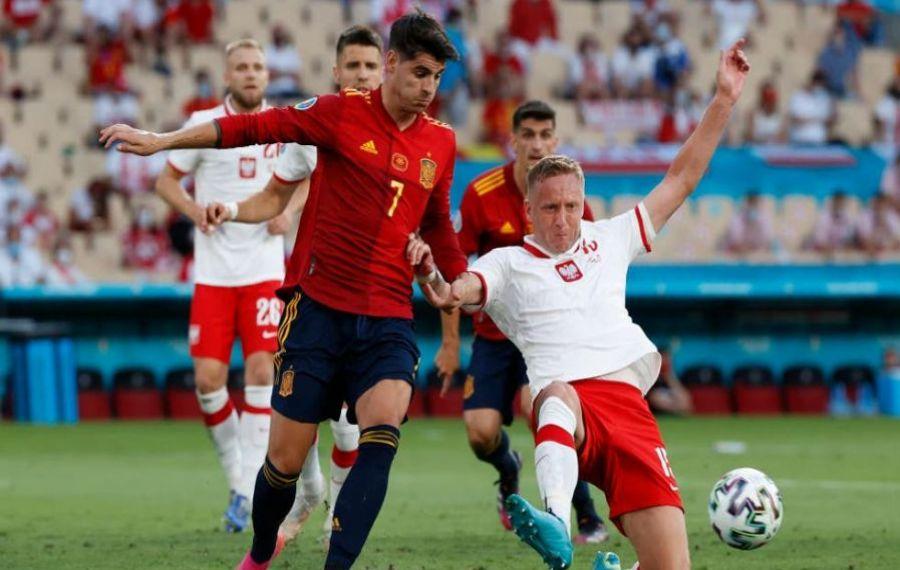 EURO 2020. Echipa SPANIEI nu a reușit să învingă nici POLONIA: 1-1 (1-0)