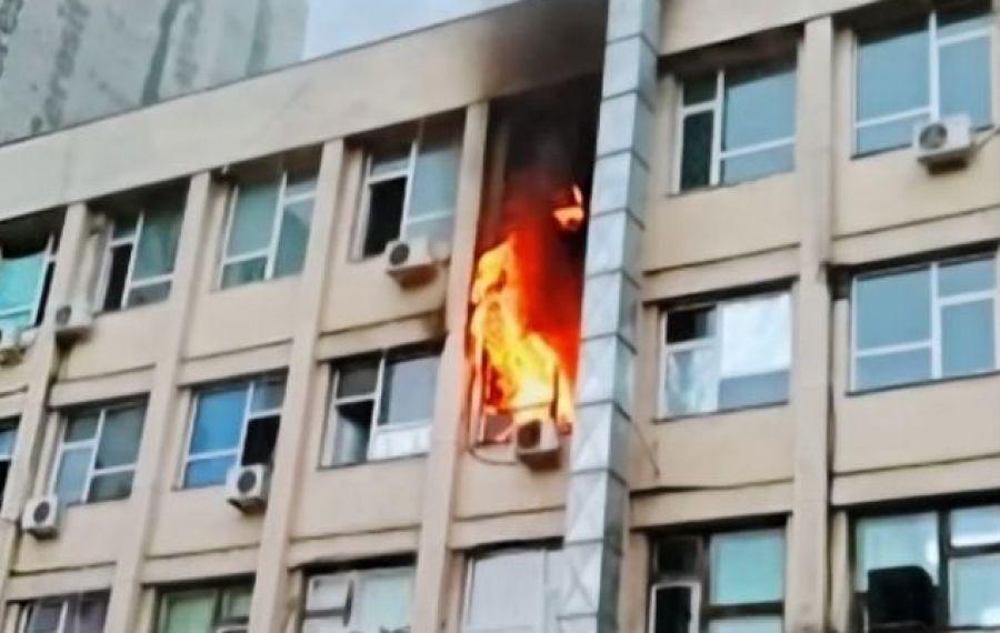 """ULTIMĂ ORĂ. Incendiu la Spitalul Clinic de Urgență pentru Copii """"Sfânta Maria"""" din Iași"""