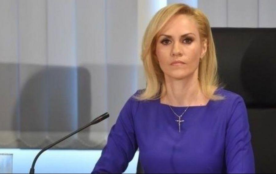 """Gabriela Firea, despre candidatura la PREZIDENȚIALE: """"Doar Dumnezeu știe"""""""