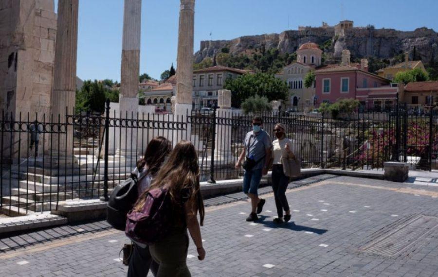 Grecia RENUNȚĂ la purtarea măștii în aer liber