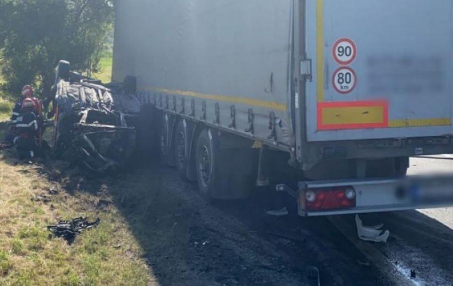 GRAV accident în Cluj. Trei oameni și-au pierdut viața pe DN1 E60