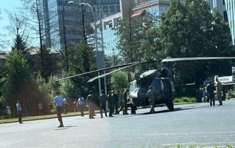 Cum a fost posibilă ATERIZAREA elicopterului american în centrul Capitalei. Explicații și imagini de ultimă oră