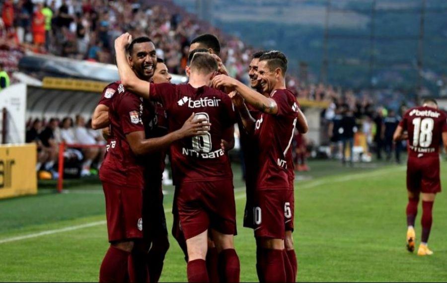 CFR Cluj, victorie în deplasare cu 2-1 (0-1) împotriva Lincoln Red Imps, în turul doi preliminar al Ligii Campionilor