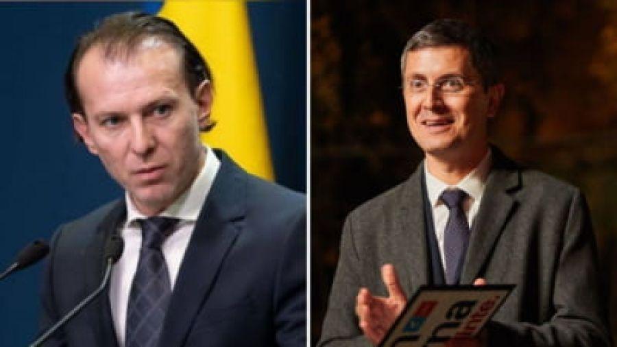 """Cîţu îl UMILEȘTE pe Barna: """"Îl încurajez să aibă o discuţie cu Patriarhul României"""""""