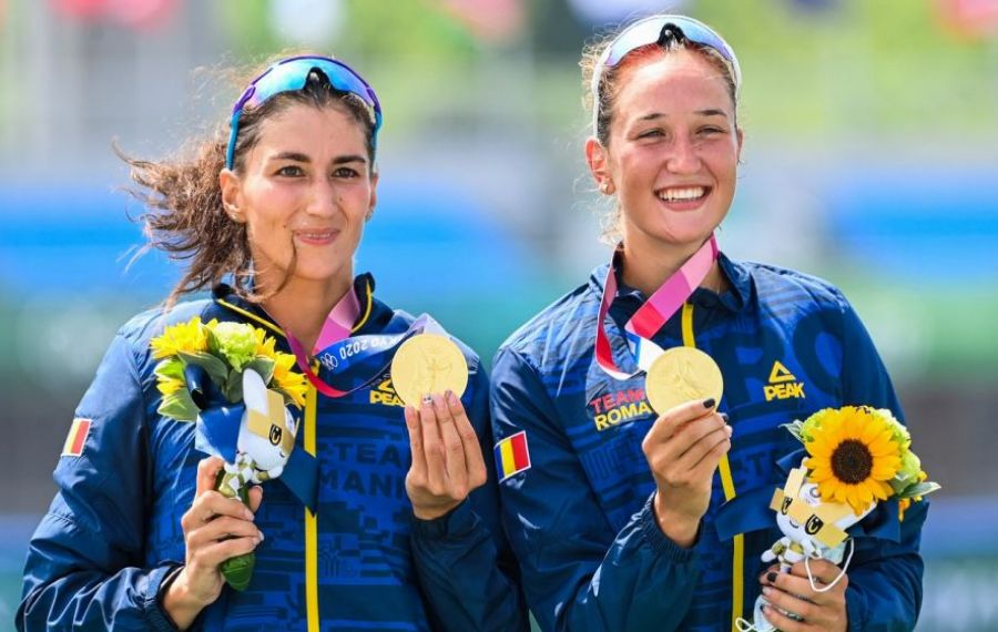 Zi memorabilă pentru România la JO 2020. Prima medalie de AUR - Ancuţa BODNAR şi Simona RADIȘ, în proba feminină de dublu vâsle, și o medalie de ARGINT, în proba masculină de patru rame