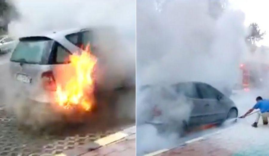 Iași: un student a dat foc la patru mașini / MOTIVUL este șocant
