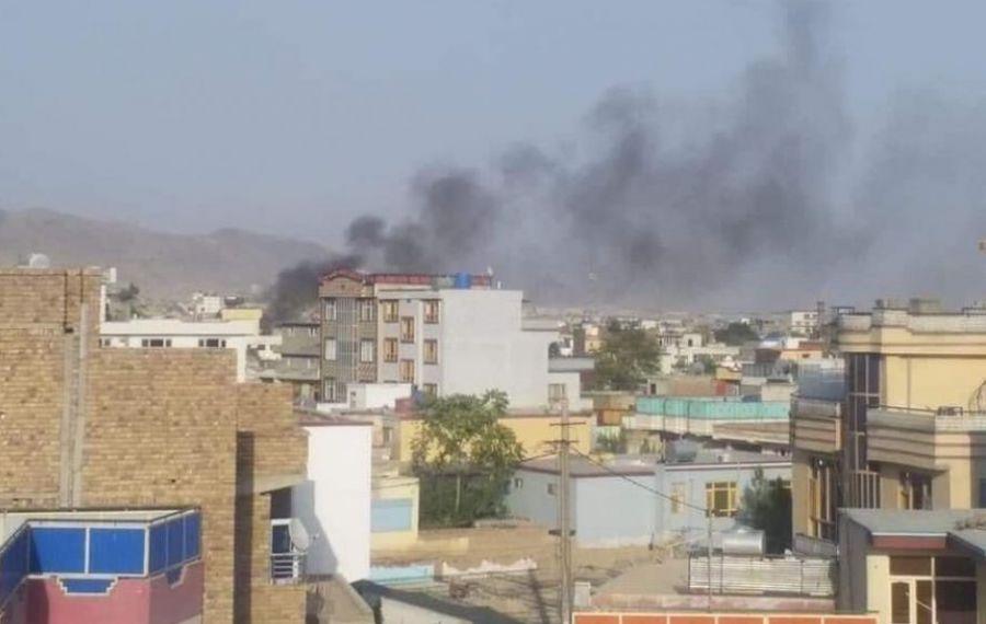 O rachetă a lovit o casă de lângă aeroportul din Kabul. EXPLOZIE puternică
