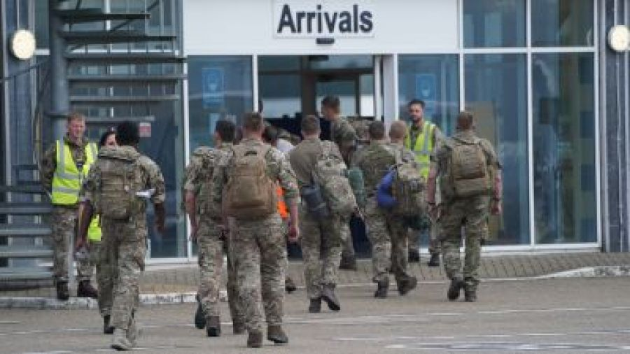 """Britanicii, după retragerea SUA: """"Suntem gata să lansăm atacuri împotriva ISIS-K"""""""