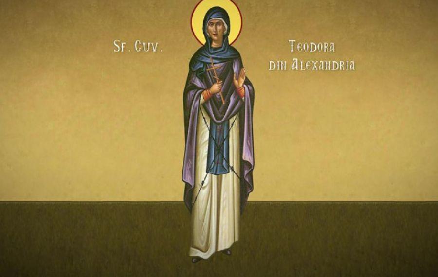 Mare sărbătoare pe 11 septembrie: Prăznuirea Sfintei Cuvioase Teodora din Alexandria