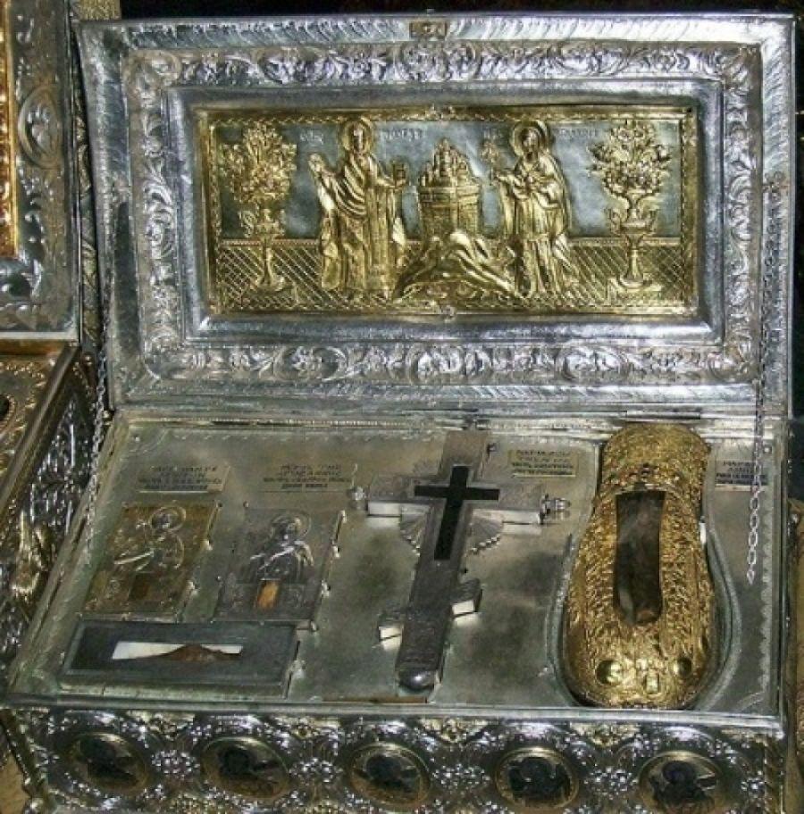 Moaștele Sfintei Maria Magdalena ajung la Mănăstirea Pantocrator din Teleorman