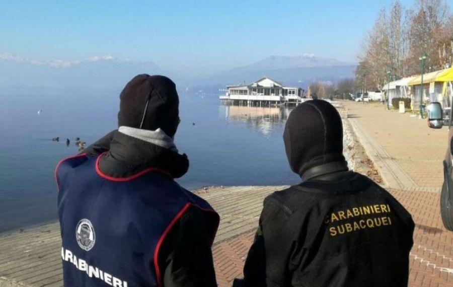 Român dispărut într-un lac din Italia
