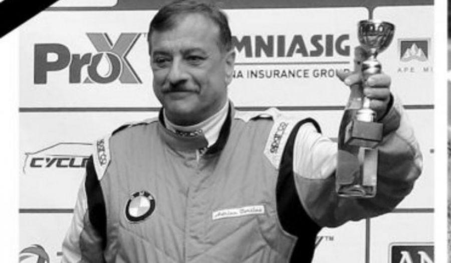 Când va fi înmormântat multiplul CAMPION la automobilism Adrian Borțică