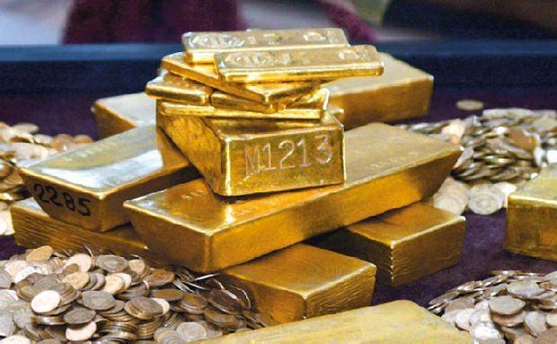 Preţul aurului, în cădere liberă