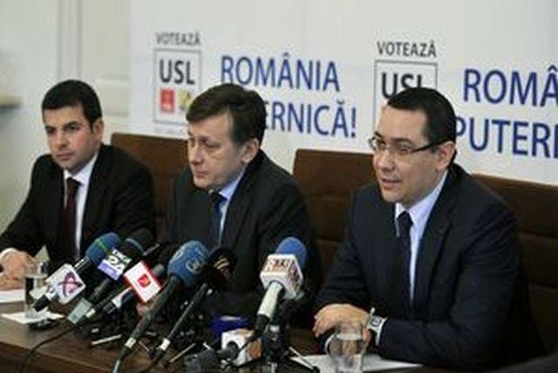 UPDATE. ŞEDINŢA USL. Ponta: Portofoliul Ministerului Justiţiei va fi asumat de PSD
